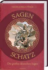 SAGENSCHATZ Die großen deutschen Sagen,346 Volkssagen Kaiser Hexen Teufel Riesen