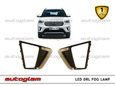 Fog-Lamp LED DRL with Turn Indicator for Hyundai Creta, Imported product