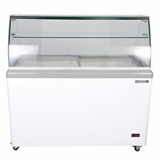 Maxx Cold 12 Flavor 20cu ft Commercial Ice Cream Dipping Cabinet Freezer MXDC-12