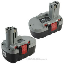 2 x 18V Extended Ni-Mh 3.0AH  Battery for Bosch BAT025, BAT026, BAT160, BAT180,