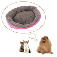 Small Pet Dog Puppy Cat Soft Fleece Cozy Warm Nest Bed House Cotton MUB