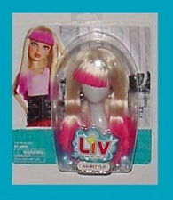 LIV Doll Wig Accessory - Blonde & Pink Tip Hairstyle HTF