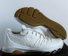 "NIKE KD 8 EXT WOVEN SAIL-WHITE-CHROME-BLACK SZ 10""GUM BOTTOM"" [806393-100]"