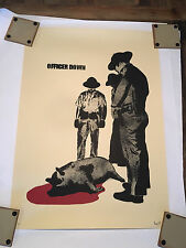 "dolk Limited Edition Print Signed and Numbered shepard fairey ""Officer Down"""