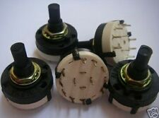 1pcs 2 POLE 5 POSITION DIY AMPLIFIER ROTARY SWITCH 2P5T