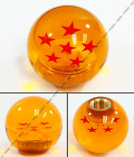 FOR SUBARU IMPREZA WRX STI GB BRZ DRAGON BALL Z 6 STAR MANUAL ACRYLIC SHIFT KNOB