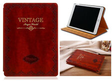 Vintage Classic Antique Mosiso Design Real Book Case Cover For iPad Mini 1 2 3
