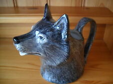 Fabulous Quail Pottery Wolf Jug Boxed Ideal Gift