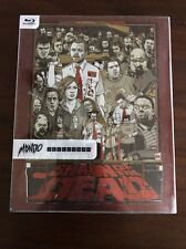 MONDO #007 SHAUN OF THE DEAD Blu-Ray Target Exclusive STEELBOOK Clear Slipcover