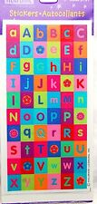 vintage Hallmark stickers pack Heartline Alphabet ABC letters colorful flower