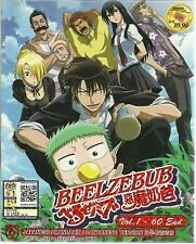 DVD Beelzebub (TV 1 - 60 End) + Bonus Anime