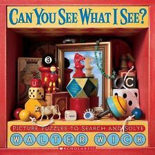 Can You See What I See?: Picture Puzzles to Search and Solve-ExLibrary