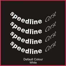 "Speedline 2118 Wheel Decals 15/16"" X8,Vinyl, Sticker ,Car, Wheels, N2043"