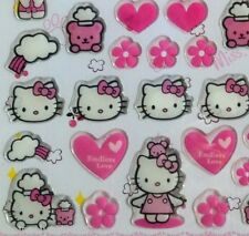 3D Dimensional Epoxy Sticker Pink Hello Kitty Our good friend Endless Love
