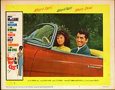 WHAT A WAY TO GO orig 1964 lobby card movie poster DEAN MARTIN/SHIRLEY MACLAINE