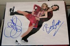 Tanith Belbin Ben Agosto Olympic Silver Medal Ice Dancing SIGNED 8x10 Photo COA