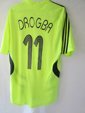 Chelsea 2007-2008 Drogba 11 CL Away Football Shirt Size Medium /34716