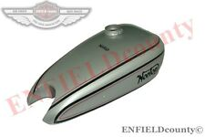 NEW REPRO 1930's NORTON MODEL 18 PETROL FUEL GAS TANK SILVER PAINTED @ ECspares