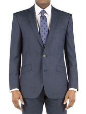 Ben Sherman Camden Tailored Skinny Fit Blazer Suit Jacket Pet Blue 40L RRP £195