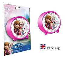 Official DISNEY FROZEN Alarm Clock Kids Girls Boys Anna Elsa Birthday Party Gift
