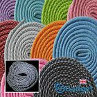 3M Reflective 6mm Rope Sports Running Trainer Boot Laces Shoelaces 3 Sizes UK