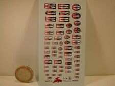 "DECALS 1/43 - 1/24  EQUIPEMENTIER "" CHAMPION "" - VIRAGES  T84"