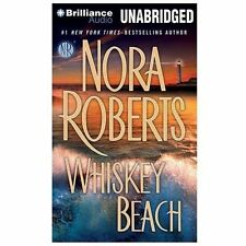 WHISKEY BEACH unabridged audio book on MP3 CD by NORA ROBERTS