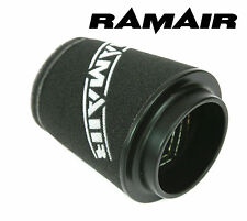 RAMAIR INDUCTION FOAM CONE AIR FILTER UNIVERSAL 84mm NECK SHORT MADE IN THE UK