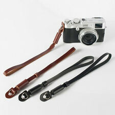 Pro Leather DSLR SLR Camera Wrist Strap Hand Grip For Canon Sony Nikon Universal