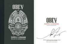 Shepard Fairey SIGNED AUTOGRAPHED Obey Supply & Demand 20th Anniversary Ed Bonus