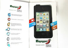 Black Waterproof Shockproof Heavy Duty Hard Case Cover for Apple iPhone 4S 4