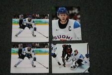 Lot of 4 Finland Olympic hockey 8x10 photographs Koivu Backstrom