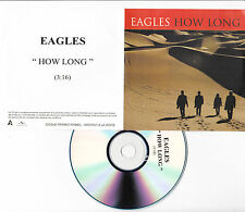CD COLLECTOR ACETATE PLASTIC SLEEVE 1T EAGLES HOW LONG
