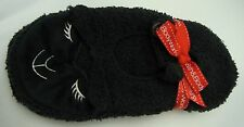 Bath Body Works Original BLACK LAMBIE Slippers Socks NEW One Size Fits Most