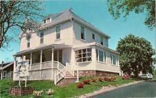 THE TOWN HOUSE  B&B POST CARD CIRCA 1970'S LIBRARY LANE, CHATHAM, CAPE COD, MA.
