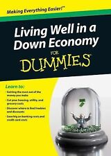 Living Well in a Down Economy For Dummies-ExLibrary