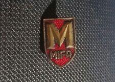 MIFA Spilla rosso smaltato d'oro 10x16mm vecchio+ originale
