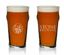 Stone Brewing Imperial Pint Beer Glass 20 Ounce
