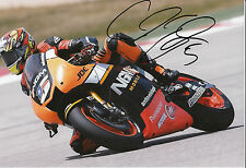 Colin Edwards Hand Signed NGM Forward Racing Yamaha 12x8 Photo 2014 MotoGP 1.