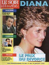 LE SOIR illustré N°3342 diana 1996