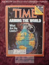 TIME Magazine October 26 1981 Oct 10/26/81 ARMING the WORLD NUCLEAR POWER