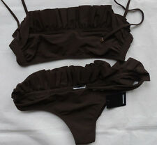 Dsquared2 Bikini mit Rüschen D6BP50520 Gr 42  MADE IN ITALY