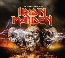 Many Faces Of Iron Maiden (2016, CD NIEUW)3 DISC SET