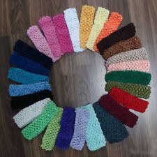 10pcs Bulk Baby Girls  Yoga Toddler Crochet  Hair band Headband Hairband