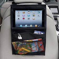 Back Seat Car Kids Organiser Tablet holder Travel iPad Galaxy Storage Bag Pocket