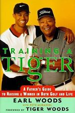 TRAINING A TIGER - Earl Woods (hc/dj) 1st Edition