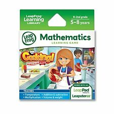 LeapFrog Cooking Recipes On The Road Learning Game (works with LeapPad Tablets a