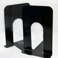Heavy Duty Metal Book Ends Shelf Bookends Home Office School Pack of 4