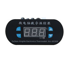 50-120°C 12V Digital LED Heat Cool Termostato Temperatura Controlador Sensor