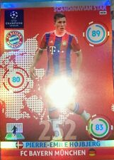 Pierre-Emile Hojbjerg Scandinavian Star NE06 Adrenalyn XL Champions League 14-15